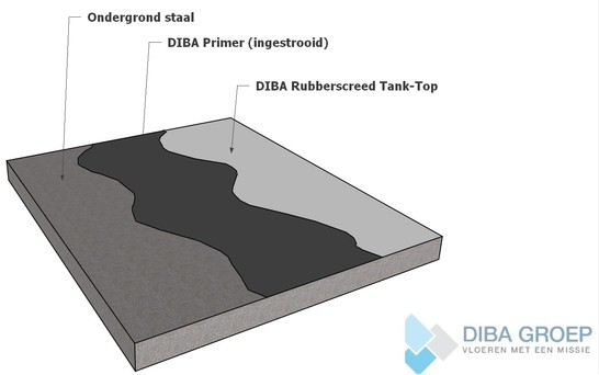 DIBA 670 Rubberscreed Tank Top