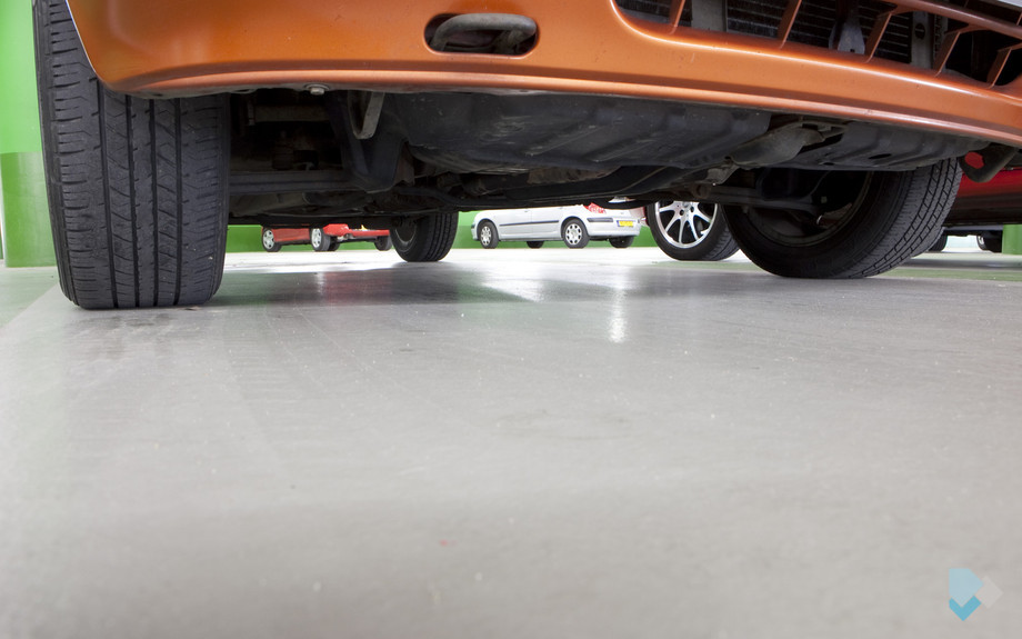 DIBA 115 Epoxy Coating AS Parkeergarage