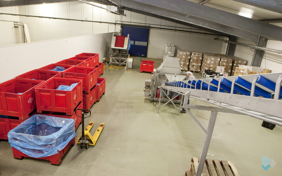 Food industrie Groente- en Fruit